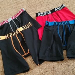 Set of 4 adidas boxer briefs